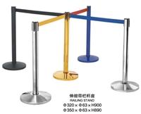 阳江市一米线排队栏杆座  阳江银行一米线栏杆