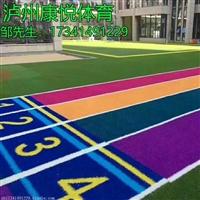 宜宾足球场人造草施工 休闲仿真人工假草坪 人造草皮施工方案设计