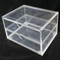 透明亚克力翻盖信阳毛尖龙井通用茶叶包装盒礼品盒定制
