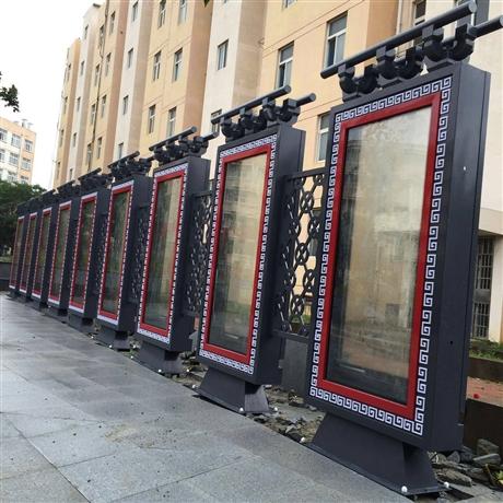 苏州江苏宣传栏厂家先进的生产设备
