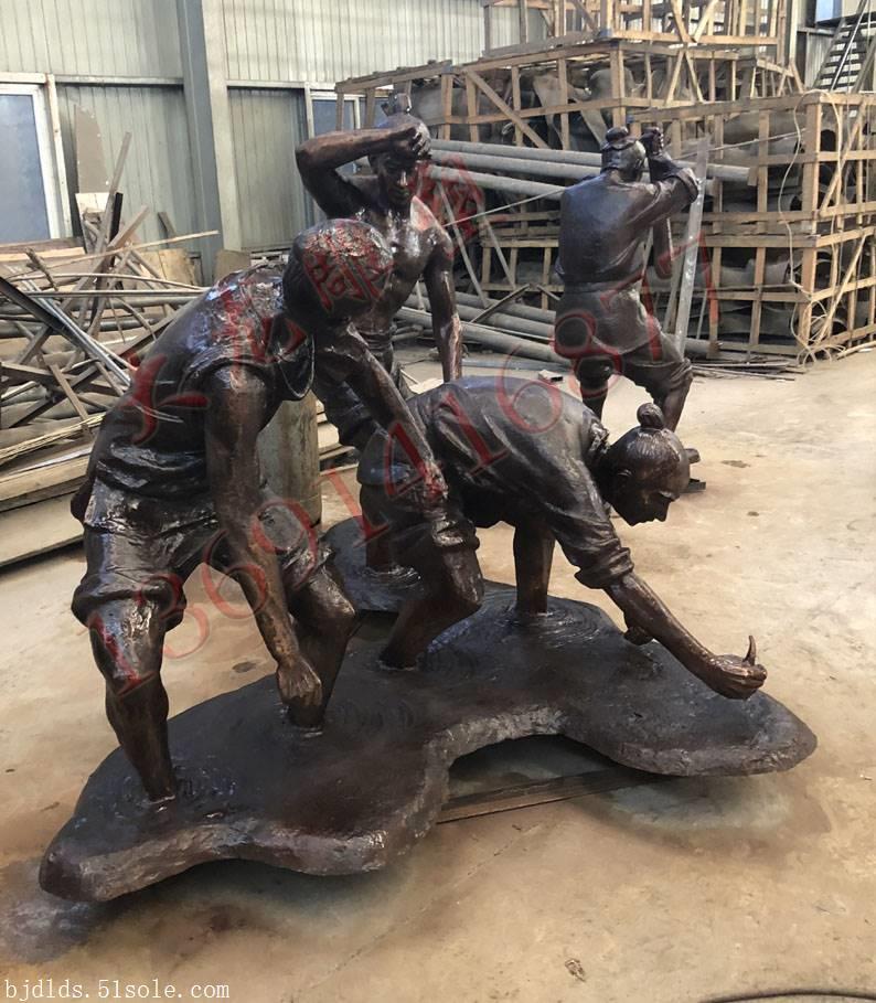 铸铜雕塑加工制作工厂来图加工铸造