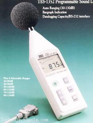 台湾泰仕TES1352H噪音计、声级计噪声检测