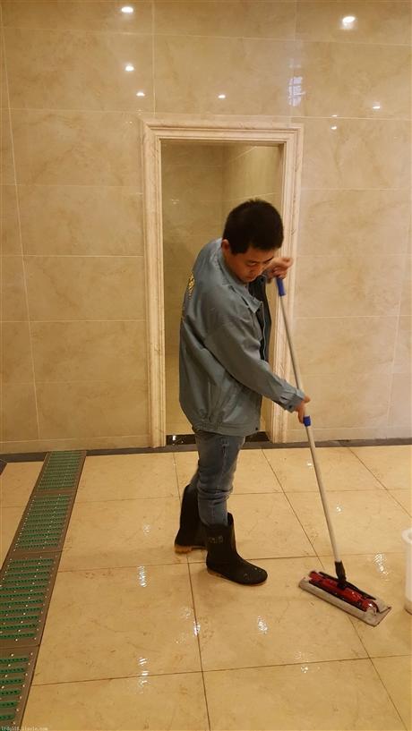 打蜡地面防滑处理怎么算
