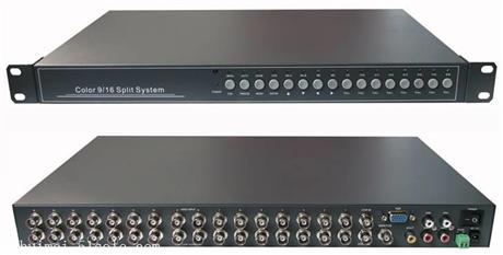 RS485画面分割器9路画面分割器带远程控制