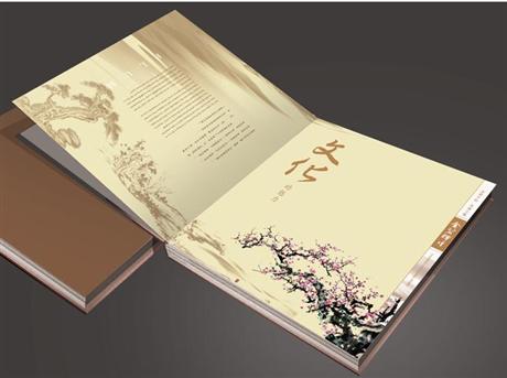 青岛印刷图册彩页