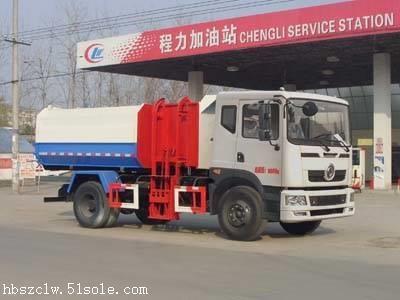 东风D9挂桶垃圾车