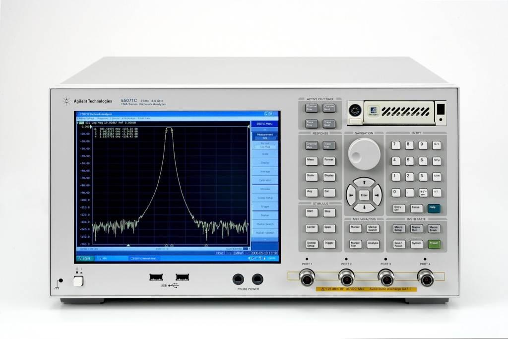 高价回收/收购二手Agilent E5071B网络分析仪