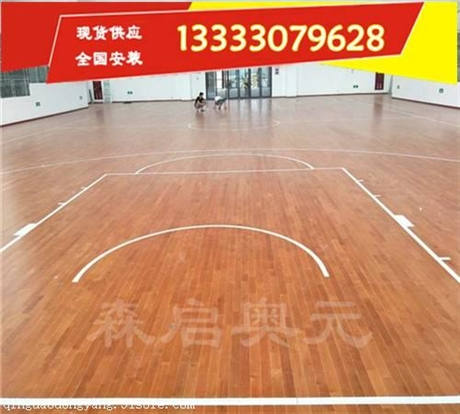 长沙枫木运动木地板厂家做法及铺设要求
