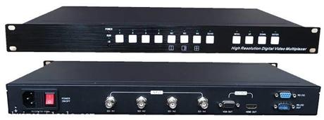 高清画面分割器 高清HD-SDI四画面分割器NK-HD3006SDIQ