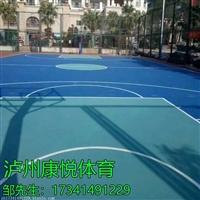 宜宾丙烯酸篮球场地施工 丙烯酸耐磨球场地坪