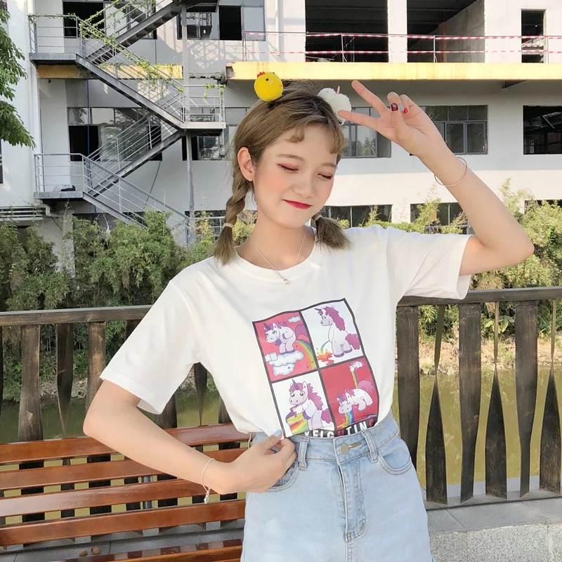 韩版休闲夏季服装批发时尚纯棉夏装批发夏季新款T恤衫批发