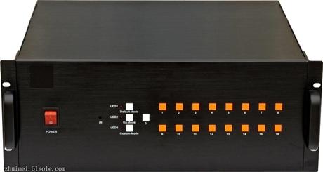 高清画面分割器 派尼珂专业高清VGA九画面分割器NK-HD4009VGACQ