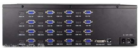 高清画面分割器  高清VGA十六画面分割器NK-HD5016VGAQ