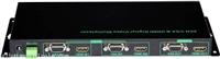高清画面分割器 HDMI及VGA混合输入二画面分割器