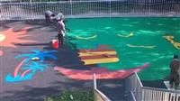 室外幼儿园专用环保EPDM地板无色无味卡通可爱地板