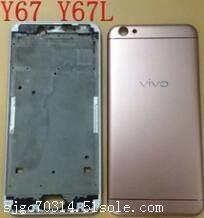长安回收vivo手机配件y67电池盖 回收手机外壳