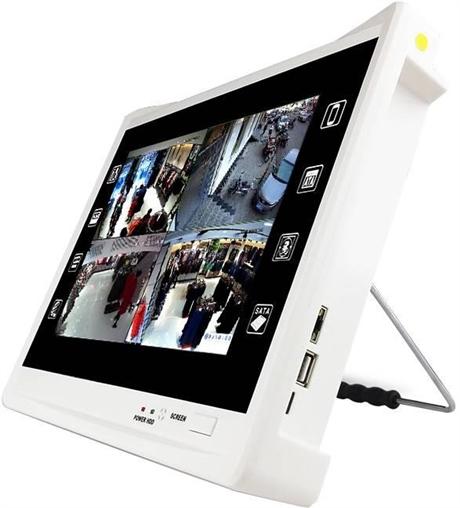 派尼珂8路NVR带屏五合一录像机