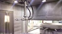 电器外壳喷砂机海恩特专用电器喷砂机