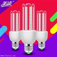 美凌LED节能灯泡高亮度U形管玉米灯泡