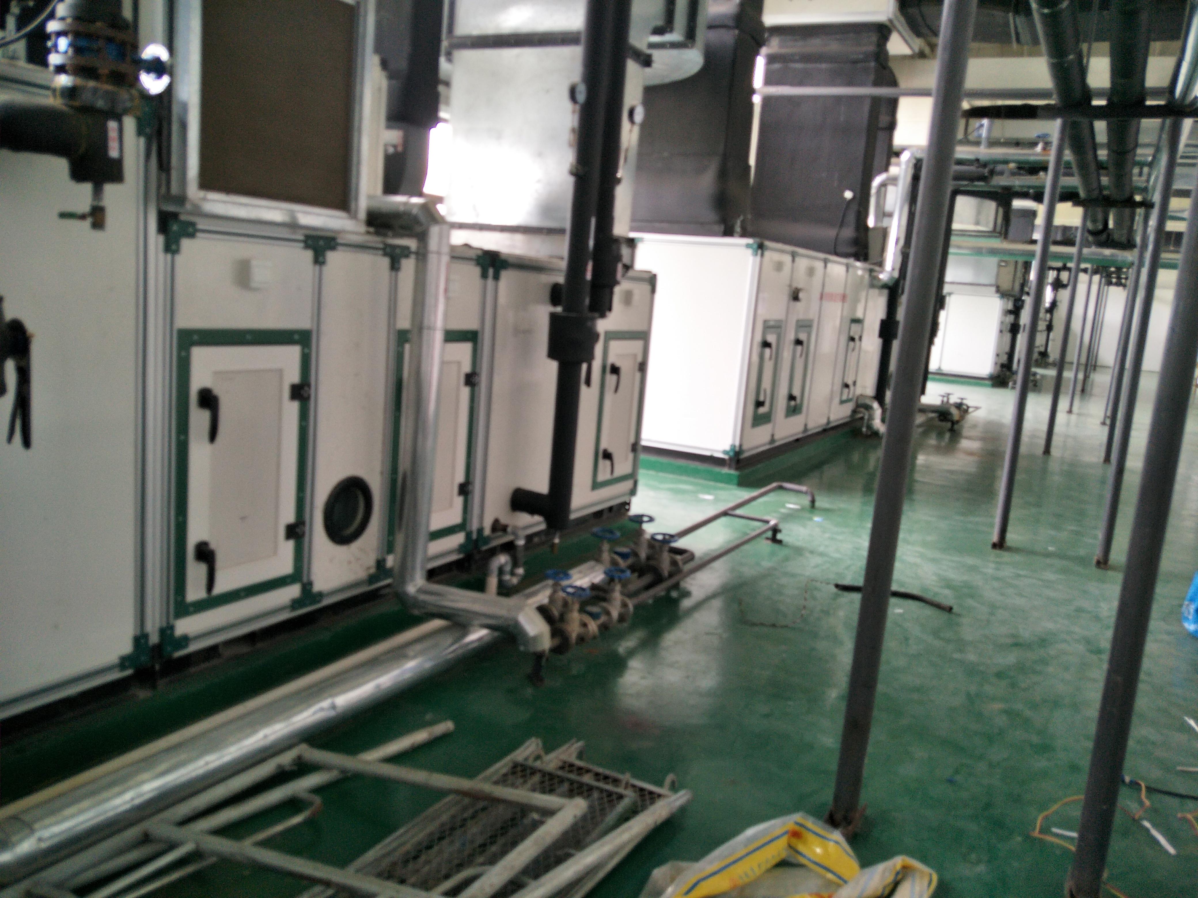 冷冻机组   转轮除湿机   净化空调