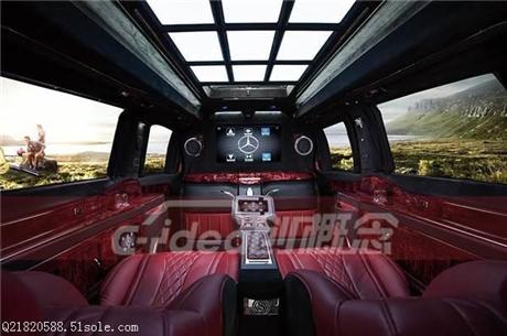 大众T6商务房车内饰定制改装,全车作隔热隔音处理