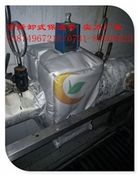 黑龙江可拆卸式隔热套威耐斯生产