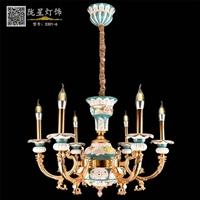 供应陶瓷吊灯法式吊灯西洋外销吊灯家居卧室客厅餐吊灯