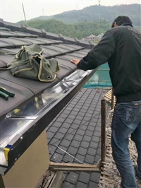 铝合金雨水槽保定瑞晨供应商