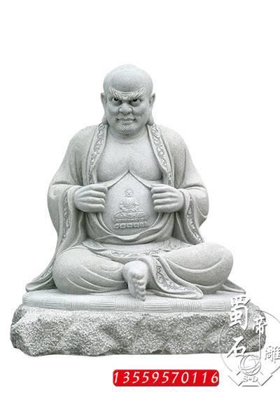 石雕十八罗汉青石十八罗汉雕像石雕人物佛像