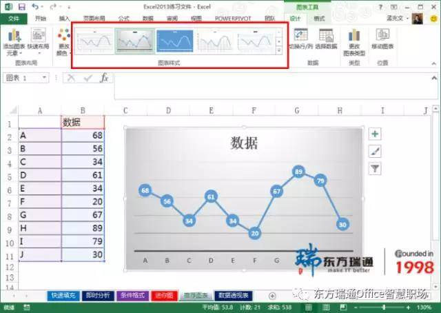 Excel培训技巧就几步操作让你的Excel图表与众不同