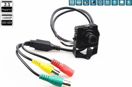 迷你SDI高清方块摄像机 ATM机器视觉高清SDI摄像机