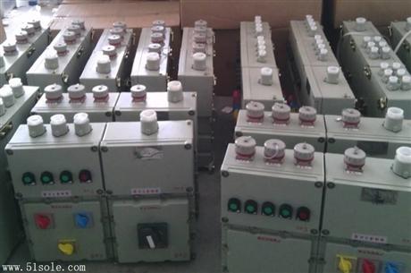 防爆移动检修电源插座箱