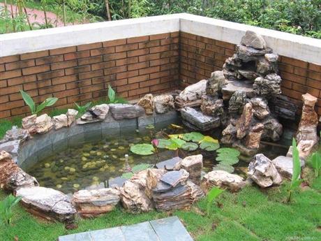 长沙庭院鱼池设计厂家