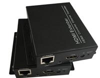 HDMI转RJ45网络延长器 120米HDMI延长器
