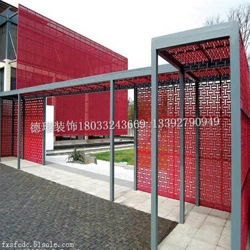 外墙镂空铝单板-铝板雕花