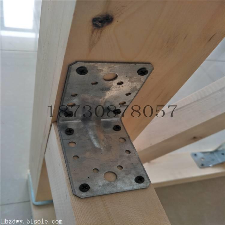 木结构配件-木屋连接件-齿板钉板角码梁托连接件