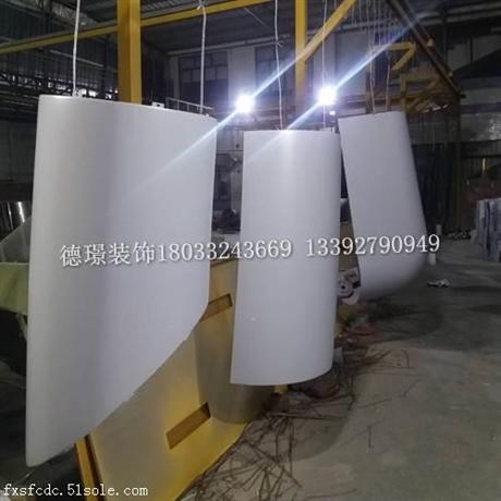 双曲铝单板价格 铝单板定制