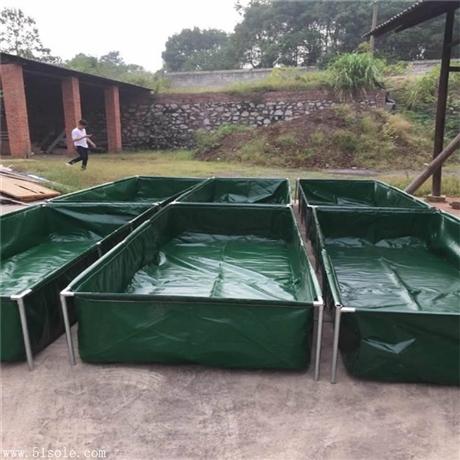 养殖帆布水池图片 帆布鱼池价格