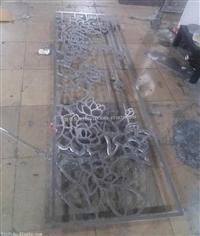 10mm厚铝板雕花