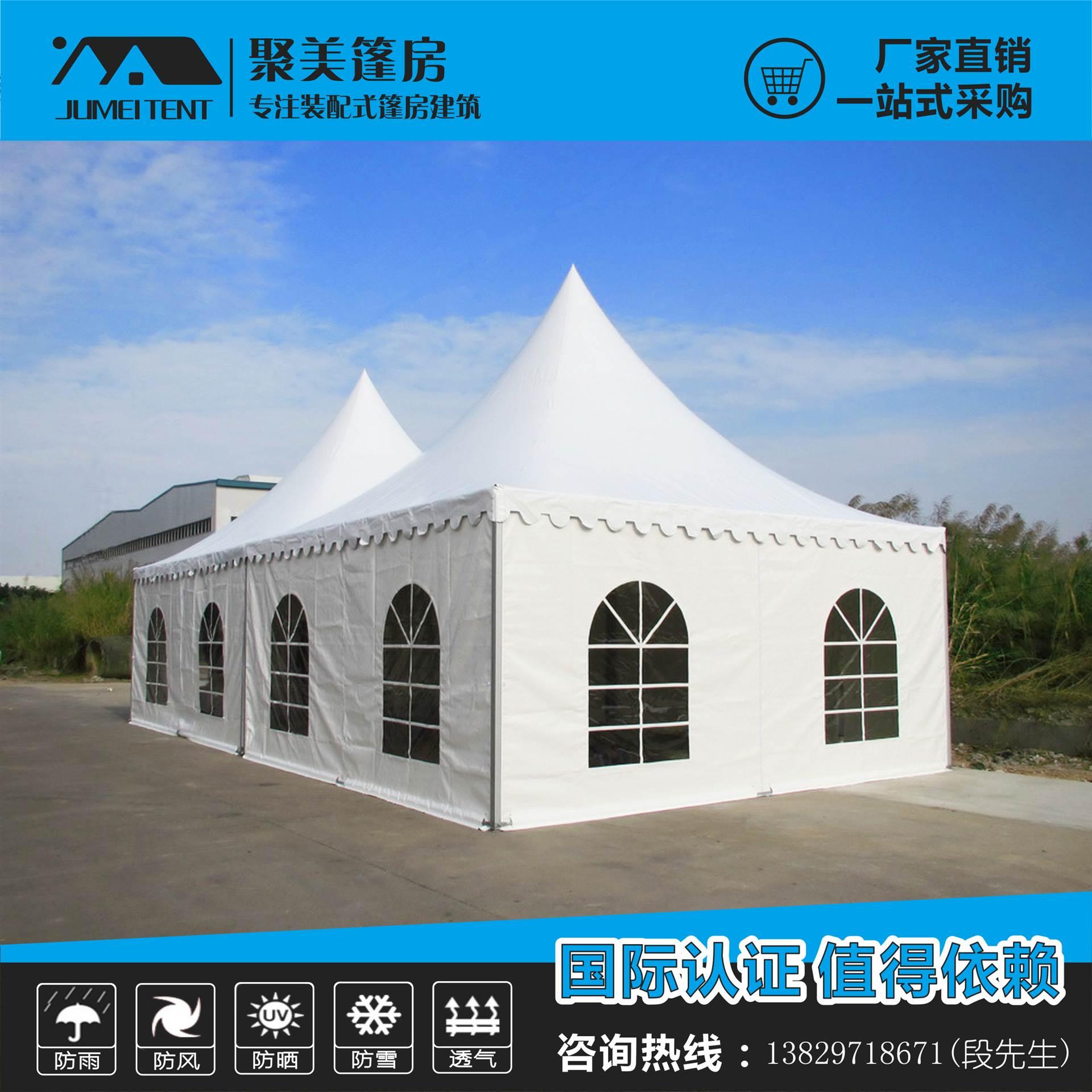 张家界3x3m欧式展览尖顶帐篷 厂家低价促销