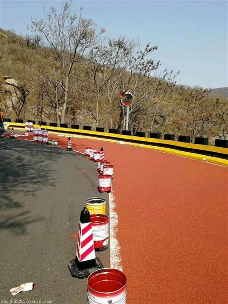 陕西省彩色陶瓷防滑路面