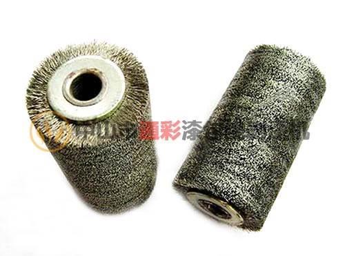 剥漆钢丝轮厂家 通彩剥漆钢丝轮 漆包线剥漆钢丝轮 钢丝剥漆轮销