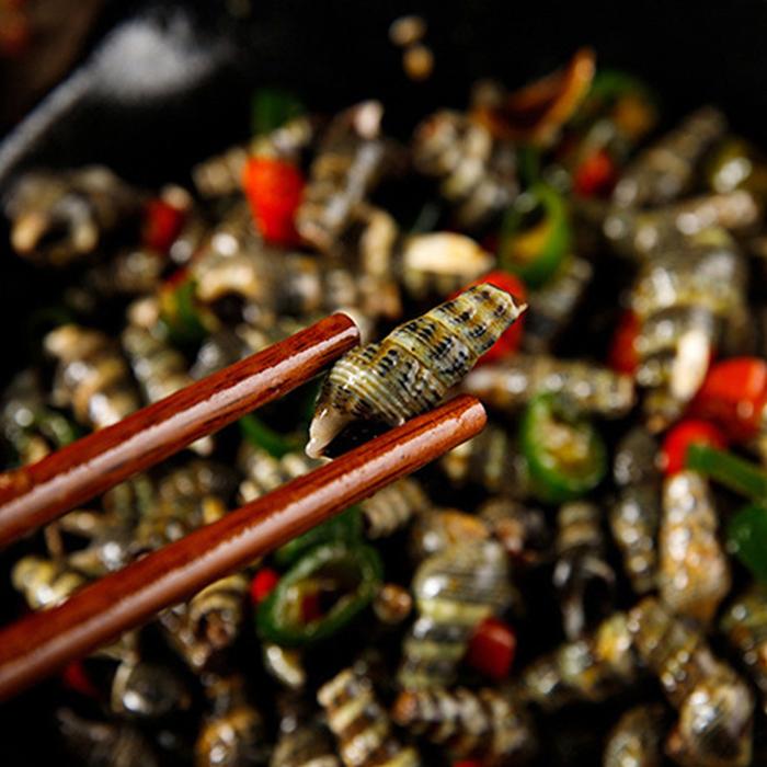 烟台海鲜晓清年即食小海鲜秘制海锥罐装