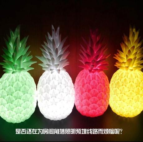 创意菠萝小夜灯 礼品厂家直销小夜灯 定制小夜灯玩具 小夜灯