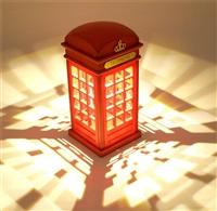 创意酒吧台灯 咖啡厅桌灯充电小夜灯 吧台台灯定制广告
