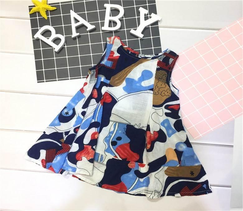 广州童装批发市场米闪女童夏季衣服