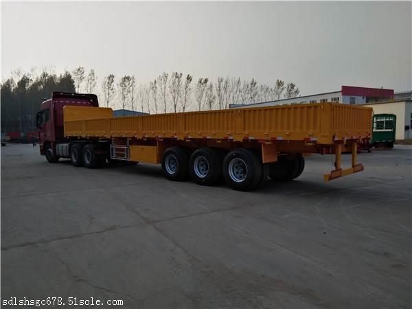 福山区订做15米铝合金半挂车骨架集装箱