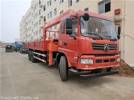 新疆阿里东风后八轮徐工12吨随车吊报价
