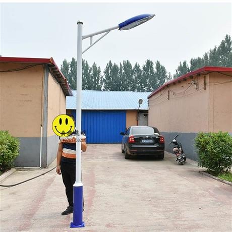 户外led路灯高杆庭院灯球场双臂自弯臂A字臂路灯6米8米道路灯