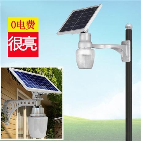 太阳能苹果灯 led照明灯 家用壁灯 路灯